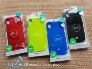 Ốp silicon Mercury Jelly iPhone X